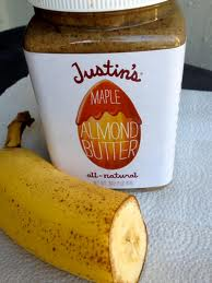 Almond Butter and Banana
