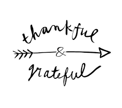 thankful and grateful